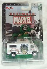 NEW DR DOOM AMBULANCE DIE CAST CAR SERIES 1 19 OF 25 MAISTO ULTIMATE MARVEL MOC