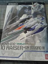 METAL BUILD Mobile Suit Gundam OO (Double O) Olyzer + GN Sword III From Japan