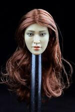 "1/6 Lin Chi-ling Asia Female Head Sculpt Model For 12"" figure doll Body Toys"