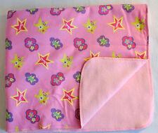 "Dog Cat Rabbit Doll fleece/flannel blanket 20x25"" Barbie #65"