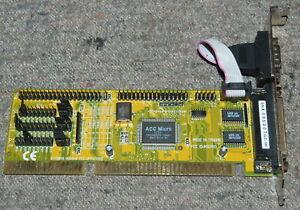 CE/3070 JP7TS5188 NIKIMIO ACC Micro 3223 16-bit ISA I/O card FULL WORK
