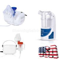 US Portable Ultrasonic Atomizer Handheld Respirator / Compact Compressor Machine