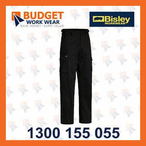 Bisley 8 Pocket Mens Cargo Pant-(BPC6007) in Black, Bottle, Khaki, Navy