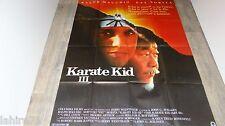 KARATE KID III  !  affiche cinema  karate kung-fu