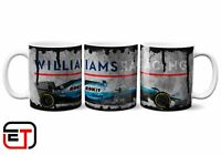 Williams Racing 2019 Formula 1 F1 Distressed Look Mug And Coaster Gift Set