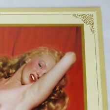 1955 Marilyn Monroe Pin-Up Calendar Golden Dreams Excellent Complete Full