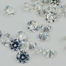 1000p 1-3.5mm crystal clear Brilliant cuts Round cubic zirconia for jewelry DIY