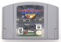 NFL Blitz 2001 Nintendo 64 N64 Football Authentic Cartridge Only Cleaned Tested
