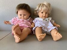 "Rare Soft Body Berjusa Dolls 1964 Pouty Face 20� & Marked ""53� Also 20�"