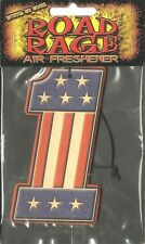 UNITED STATES no.1 flag AIR FRESHENER merchandise SEALED usa IMPORT