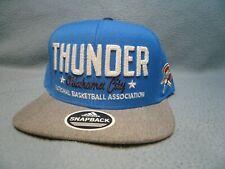 Adidas Oklahoma City Thunder Chain Star BRAND NEW Snapback hat cap OKC NBA