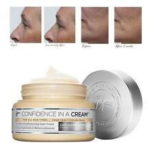 It Cosmetics Confidence In A Cream Moisturizing Super Cream Full Size 2 oz NEW