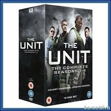THE UNIT - COMPLETE SEASONS 1 2 3 & 4 **BRAND NEW DVD BOXSET**