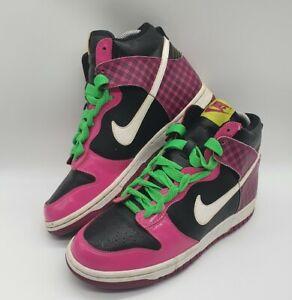 Rare Nike High Dunk GS Desert Pink UK Size 5 YS EUR 38