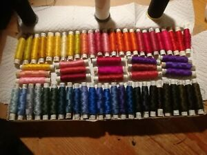 203 x Gutermann silk sweing thread vintage