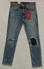 Levis 511 Slim Jeans Size 31x32 Mens Blue Stretch Denim Patches