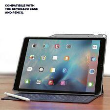 Apple iPad Pro 12.9 Case Poetic Lumos Series Soft Transparent TPU Cover Gray
