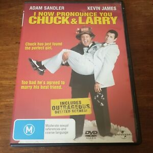 I Now Pronounce You Chuck and Larry DVD R4 Like New! FREE POST