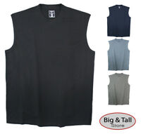 Foxfire Big & Tall Men's Muscle Tee Sleeveless 100% Cotton 3XL-10XL 2XLT-6XLT
