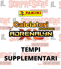PANINI ADRENALYN XL CALCIATORI 2020-2021 CARDS PLUS A SCELTA TEMPI SUPPLEMENTARI