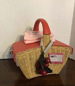 Kate Spade 3D Picnic Basket 2020 , NWT $398