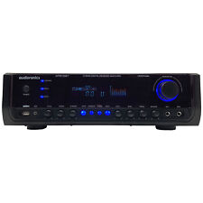 Audioronics 1500W Bluetooth Integrated Amplifier Pre-amp Stereo Receiver
