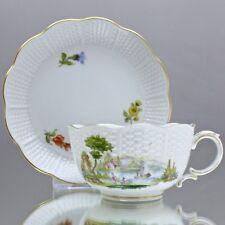 Ludwigsburg: Teetasse Osier mit bunter Landschaft, Tasse, Streubblümchen tea cup