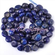 "5-9mm Freeform Blue Lapis Lazuli Gemstone Beads For Jewelry Making Strand 15"""