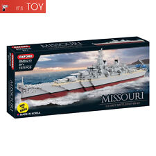 Oxford Block MISSOURI BM35215 US Navy Battle Ship BB-63 Brick For Mania 1071pcs