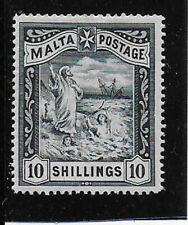 MALTA  1899  10s  SG35 mint