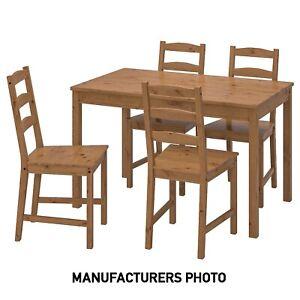 IKEA JOKKMOKK PINEWOOD TABLE & FOUR CHAIRS