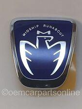 OEM Toyota 99-07 MR2 MR-S Spyder Midship Runabout BLUE Front Emblem Badge JDM