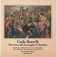 Carlo Martelli - The Curse Of Christopher Columbus (NEW CD)