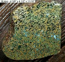 IDAHO - LITTLE WOOD COPPER ORE POCKET AGATE JASPER THICK SLAB - GREAT QUALITY