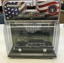 GREENLIGHT PRESIDENTIAL LIMOS 1:43 SCALE 1972 LINCOLN CONTINENTAL SERIES 1