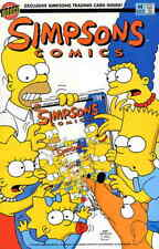 Simpsons Comics #4 (with card) VF; Bongo | save on shipping - details inside