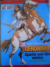 I Protagonisti del West GERONIMO n°1 Rino Albertarelli Ed. Hobby Work   [G319]