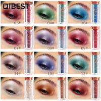 QIBEST 13Colors Glitter Eyeshadow Powder Waterproof High-flash Eyeshadow Powder