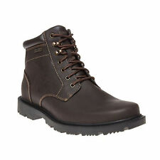 Treeline Hike Plain Toe Boot Botines Hombre, Negro - Negro, 42 EU (8 UK) Rockport