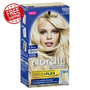 Schwarzkopf Nordic Blonde Oil-Powered Formula L1++ Omegaplex Ultimate Lightener
