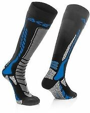 Acerbis 10.5-12 UK Adult Knee Length Thick Socks Motocross Enduro Trials YZ YZF