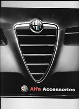 COMPREHENSIVE, ALFA ROMEO FULL RANGE ACCESSORIES SALES BROCHURE APRIL 2004