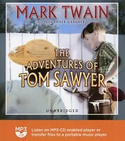 The Adventures of Tom Sawyer:  by Mark Twain - Audiobook - MP3CD