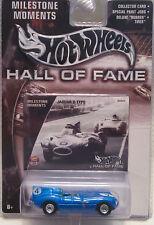 2003 Hot Wheels Hall of Fame Milestone Moments Jaguar D Type - Blue