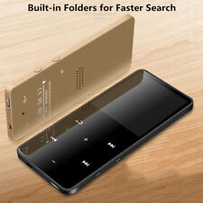 Bluetooth MP3 MP4 плеер 4/8/16GB с FM-носителя сенсорный ключ спорт музыка колонки