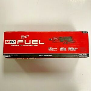 """Milwaukee  2486-20  M12 FUEL Cordless 1/4"""" Straight Die Grinder (Tool-Only) NEW"""