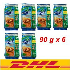 6x90g Nestea Unsweetened 100%New Package IceTea Mix Instant New Thai PowderDrink