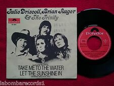 "JULIE DRISCOLL BRIAN AUGER TRINITY Take me to the water 7"" '69 SPAIN VG++/EX- 7"
