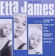 ETTA JAMES The Best Of  NEW SEALED CLASSIC SOUL CD (SPECTRUM) BLUES FEMALE VOCAL
