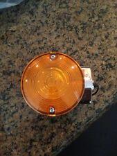harley turn signal blinkers amber yellow touring single filament Fxrt flst Flht